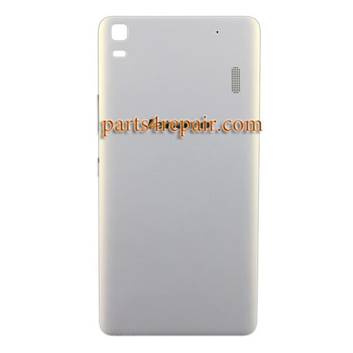 Back Cover with Side Keys for Lenovo K3 Note (K50-T5) -White