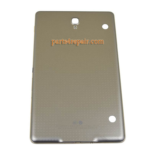 Back Housing Cover for Samsung Galaxy Tab S 8.4 T705 (3G Version) -Titanium Bronze