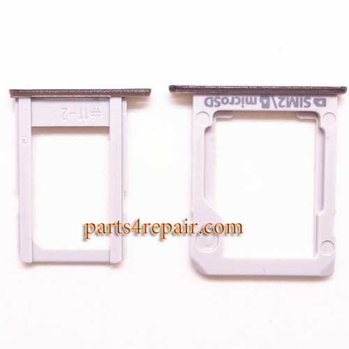 A Pair SIM Trays for Samsung Galaxy E7 -Black