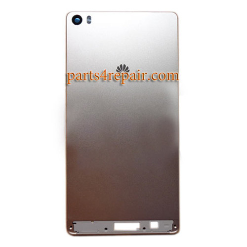 Back Housing Cover with Side Keys for Huawei P8 Max -Gold