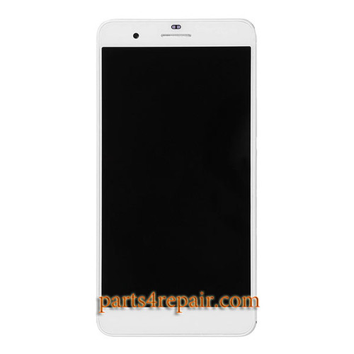 Complete Screen Assembly with Bezel for Huawei Honor 6 Plus -White