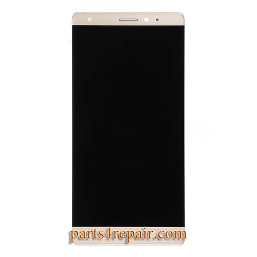 Complete Screen Assembly for Huawei Mate S -Gold
