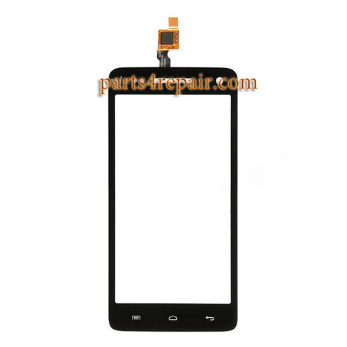 Touch Screen Digitizer for Wiko Rainbow -Black