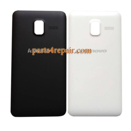Back Cover for Lenovo A850 -Black