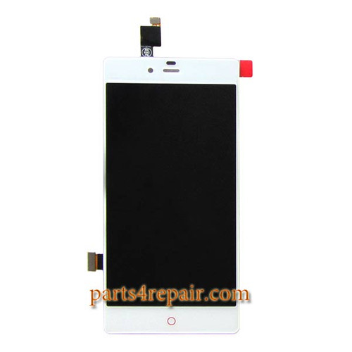 Complete Screen Assembly for ZTE Nubia Z9 mini NX511J -White