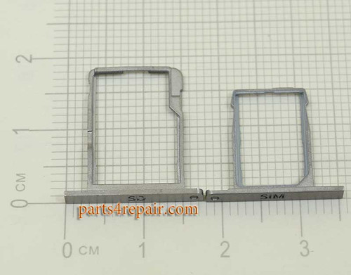 SIM Tray & SD Tray for BlackBerry Classic Q20