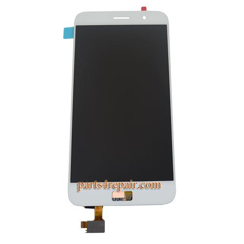 Complete Screen Assembly for Lenovo ZUK Z1 -White