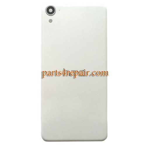 Back Cover with Camera Lens for HTC Desire 826 Dual SIM -White