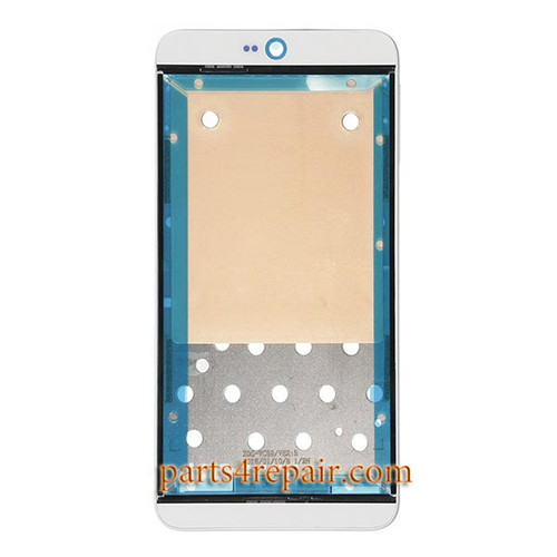 Front Housing Cover with Adhesive for HTC Desire 826 Dual SIM -White