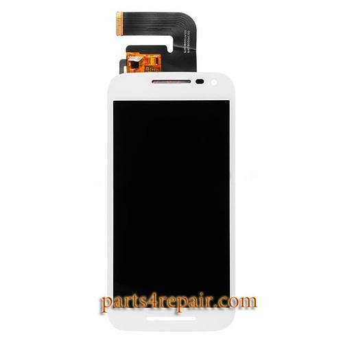 Complete Screen Assembly for Motorola Moto G (3rd Gen) -White