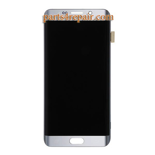 Complete Screen Assembly for Samsung Galaxy S6 Edge+ -Silver