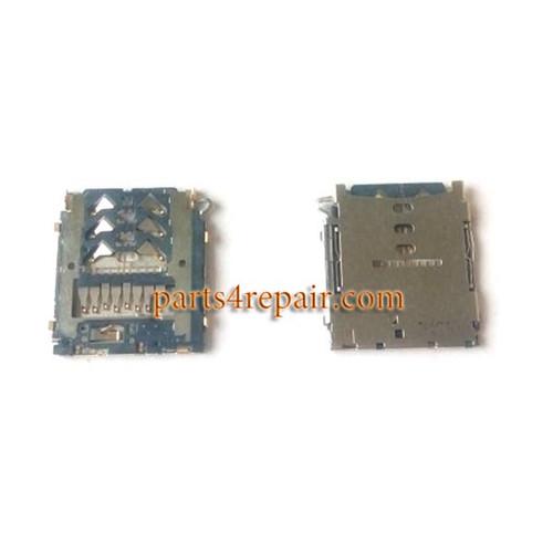 SD/SIM Card Reader for Samsung Galaxy A3 A5 A7