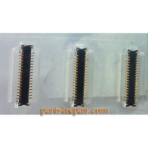 34pin LCD FPC Connector for Samsung Galaxy A3 -5pcs