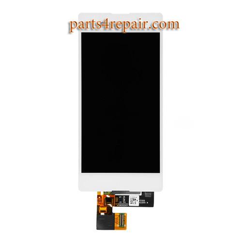 Complete Screen Assembly for Sony Xperia M5 E5603 E5606 E5653 -White