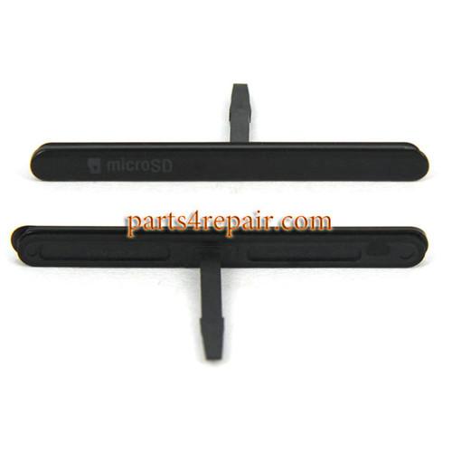 Micro SD Card Cap for Sony Xperia M5 E5603 E5606 E5653 -Black