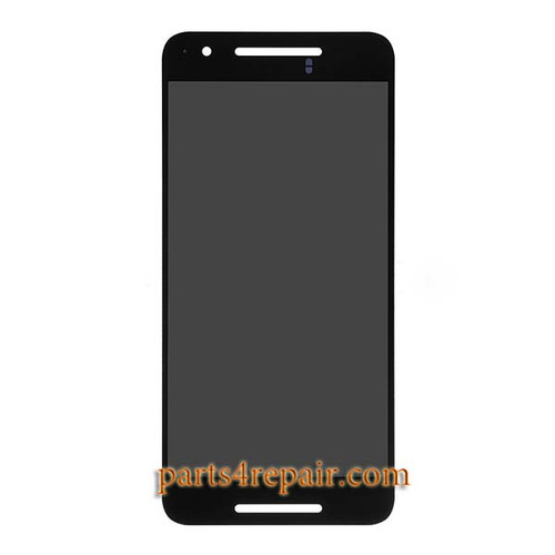 Complete Screen Assembly for Huawei Nexus 6P -Black