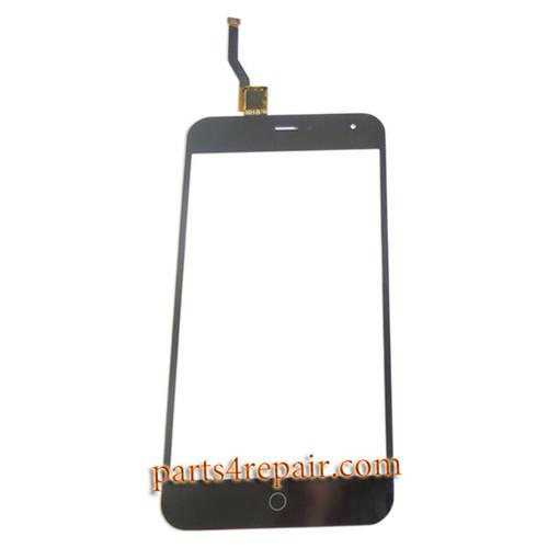 Touch Screen Digitizer for Meizu M1 -Black