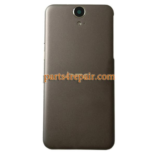Back Cover with Side Keys for HTC One E9 -Gray