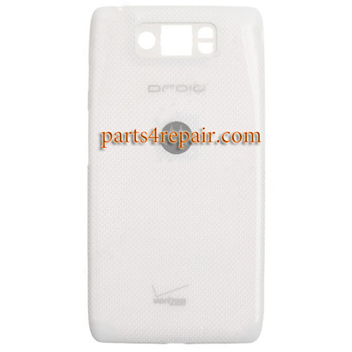 Back Cover for Motorola Droid Ultra XT1080 -White (Thick Version)