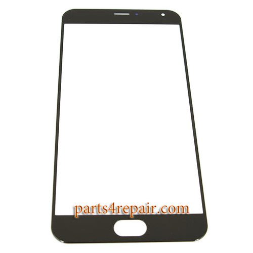 Front Glass OEM for Meizu Pro 5 -Black