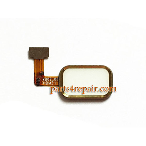 Home Button with Flex Cable for Meizu MX4 Pro -Gold