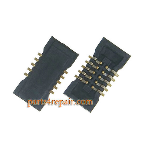 10pin Touch Screen FPC Connector on Main Board for Meizu MX4 Pro -5pcs