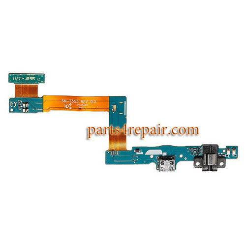 Dock Charging Flex Cable with Earphone Jack for Samsung Galaxy Tab A 9.7 T555 (3G Version)