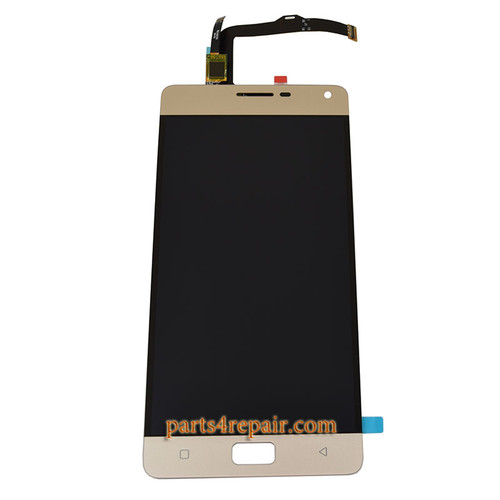 Complete Screen Assembly for Lenovo Vibe P1 -Gold