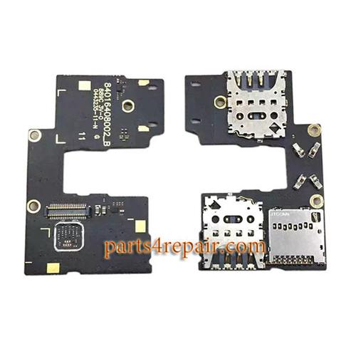 Dual SIM Connector Board for Motorola Moto G (3rd Gen)