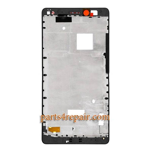 Front Housing Cover for Huawei Mate S -Black