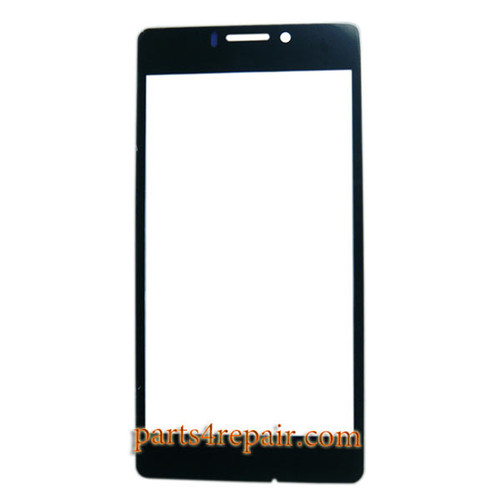 Front Glass for Gionee Elife E5 -Black
