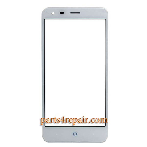 Front Glass for ZTE Blade S6 Plus (Q7) -White