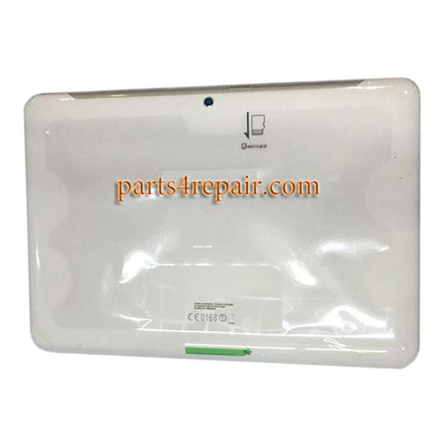 Back Cover with Side Keys for Samsung Galaxy Tab 2 10.1 P5110 (for WIFI ) -White