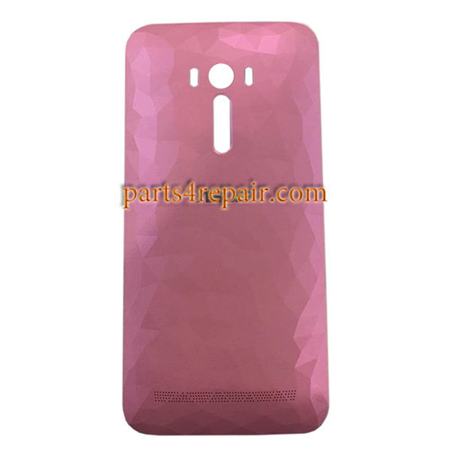 Back Cover with Power Button for Asus Zenfone Selfie ZD551KL -Diamond Pink