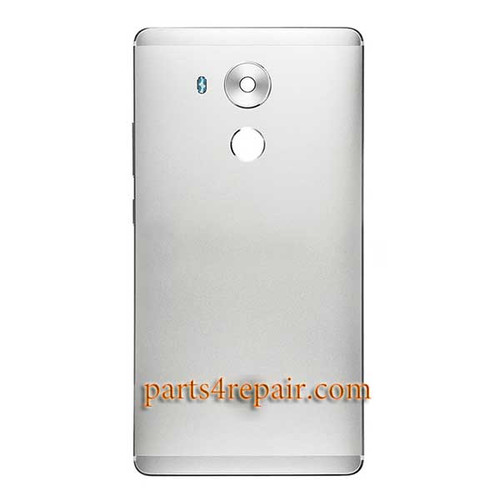 Back Housing Cover without Fingerprint Flex Cable for Huawei Mate 8 -Silver