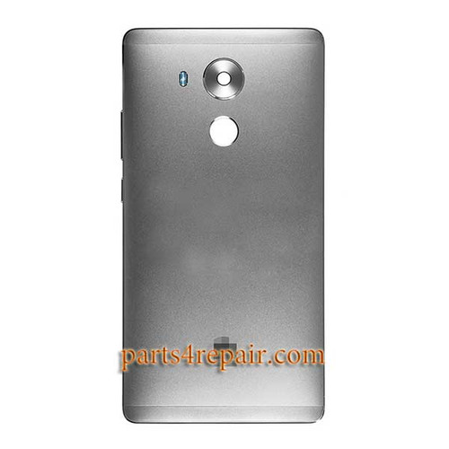 Back Housing Cover without Fingerprint Flex Cable for Huawei Mate 8 -Grey