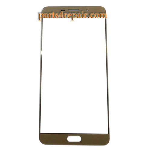 Front Glass OEM for Samsung Galaxy A9 (2016) All Versions -Gold