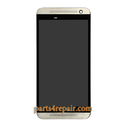 Complete Screen Assembly with Front Housing for HTC One E9 -Gold