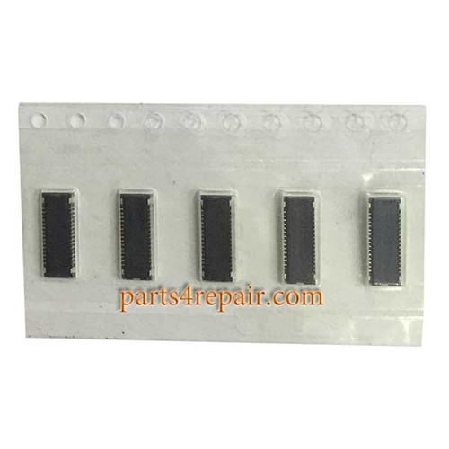 30pin LCD FPC Connector for LG G2 -5pcs