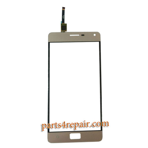 Touch Screen Digitizer for Lenovo Vibe P1 -Gold