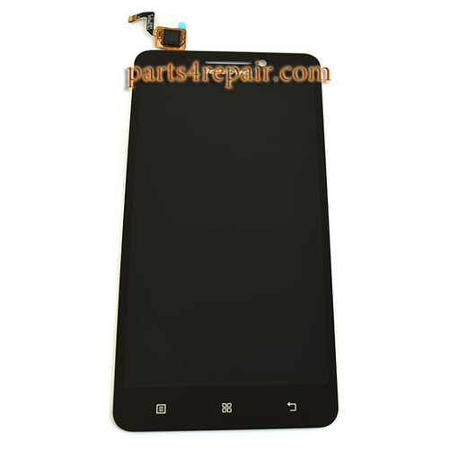 Complete Screen Assembly for Lenovo A5000 - Black