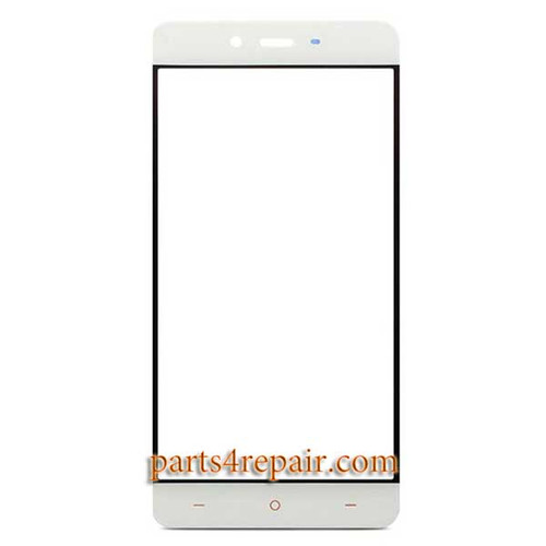 Front Glass for Oneplus X -White
