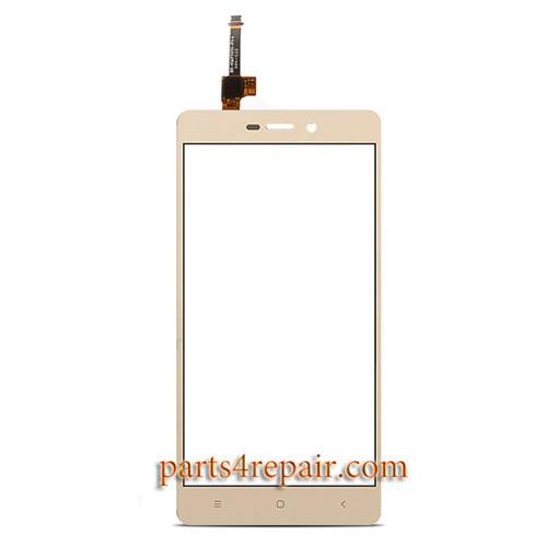 Touch Screen Digitizer for Xiaomi Redmi 3 3X 3S -Gold