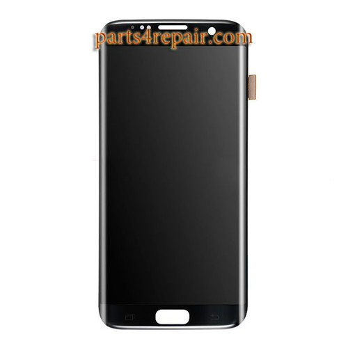 Complete Screen Assembly for Samsung Galaxy S7 Edge All Versions -Black