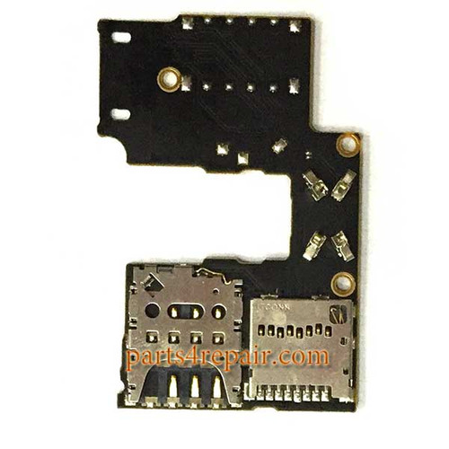 Single SIM Connector Board for Motorola Moto G (3rd Gen)