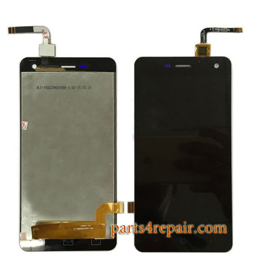 Complete Screen Assembly for ZTE Blade L3 -Black