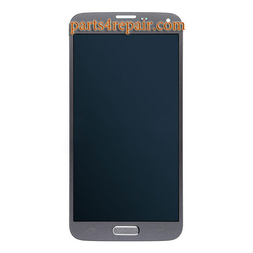 Complete Screen Assembly with Home Button for Samsung Galaxy S5 Neo All Versions -Grey