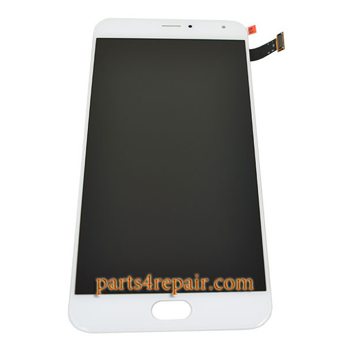Complete Screen Assembly for Meizu Pro 5 -White