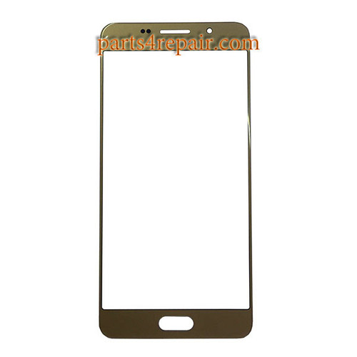 Front Glass OEM for Samsung Galaxy A7 (2016) All Versions -Gold