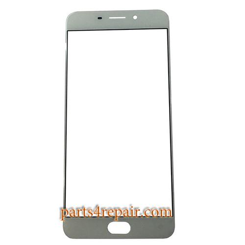 Front Glass OEM for Oppo R9 -White
